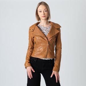 Mackage Aritzia Kenya Leather Moto Jacket
